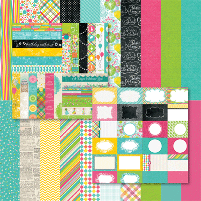 Party Brights Bundle by Katie Pertiet