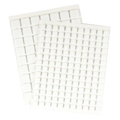 Foam Mounting Squares (White)