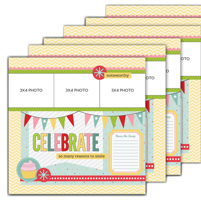 Make and Take Celebrate Layout Kit