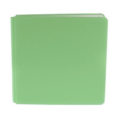 Palm Green Bookcloth Album Coverset