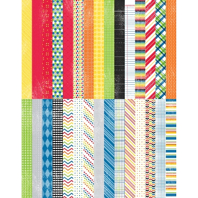 Pocket It's a Kid's World by Lauren Hinds Border Strips