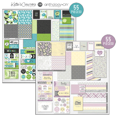 Whispering Lilac & Tropical Blooms Signature Paper Collections