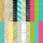 Party Brights by Katie Pertiet Designer Cardstock