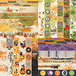 Fall Flourish by Katie Pertiet Border Strips