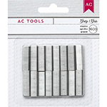 Mini Stapler Refill Staples, Gray