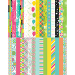 Pocket Party Border Strips by Katie Pertiet