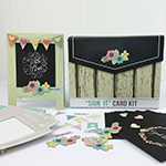 Sign It Card Kit