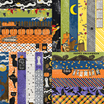 "Frightful & Furry by Lauren Hinds 2"" Border Strips: Halloween"