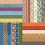 "All About Fall by Lauren Hinds 2"" Border Strips: Great Guy"