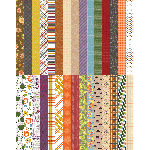 Pocket All About Fall Border Strips by Lauren Hinds