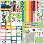 Back to School/Sports Bundle with Page Protectors