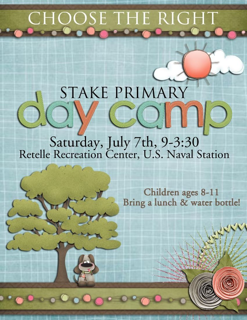 Day Camp Flyer