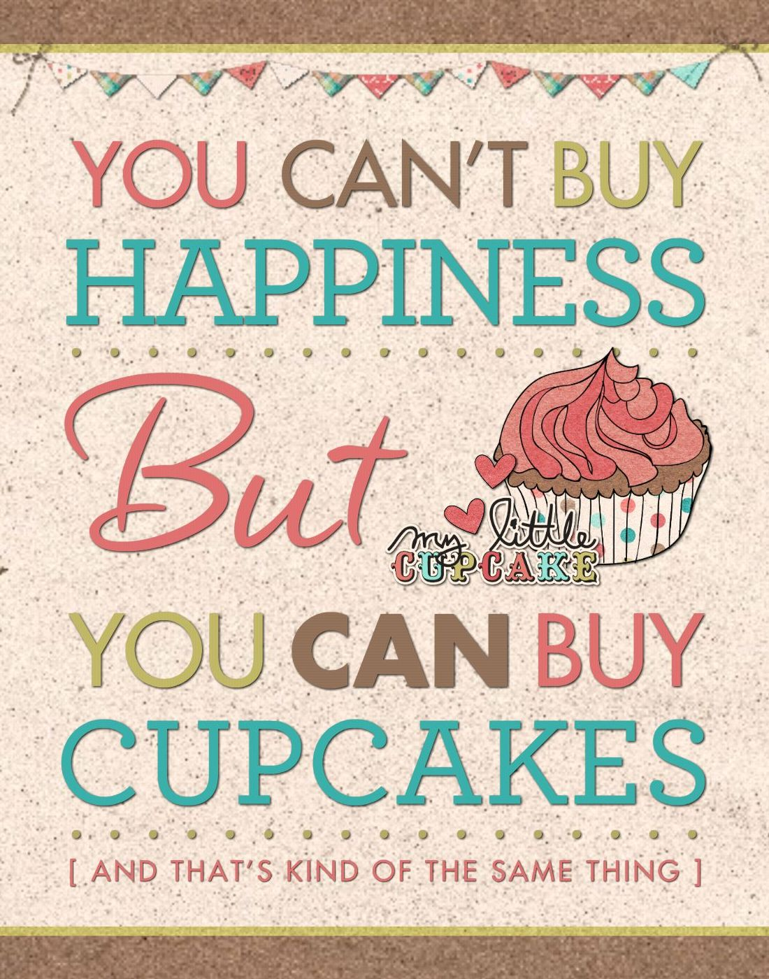 HM Happiness = Cupcakes