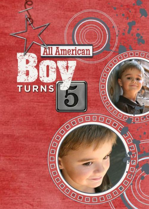 HM All American Boy Birthday