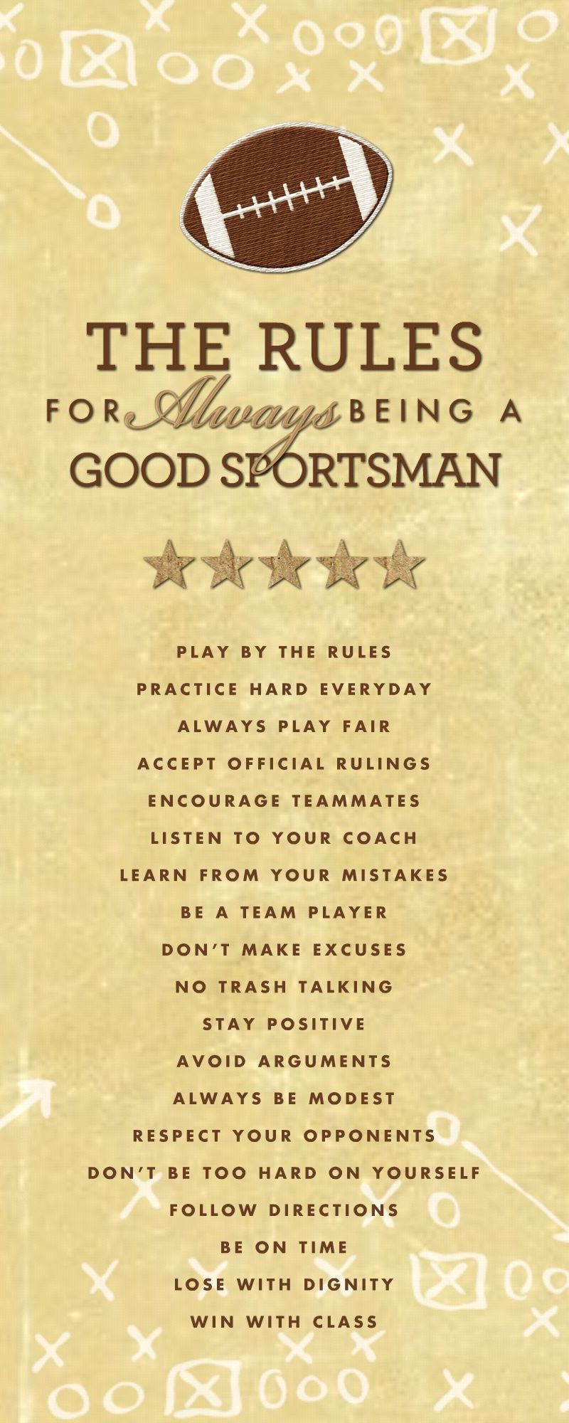 HM Good Sportsman Rules (Football)
