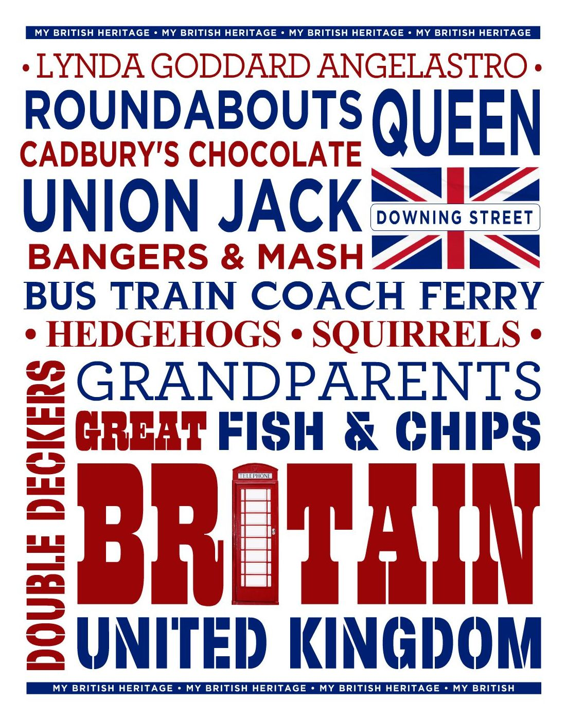 British Patriotic Poster