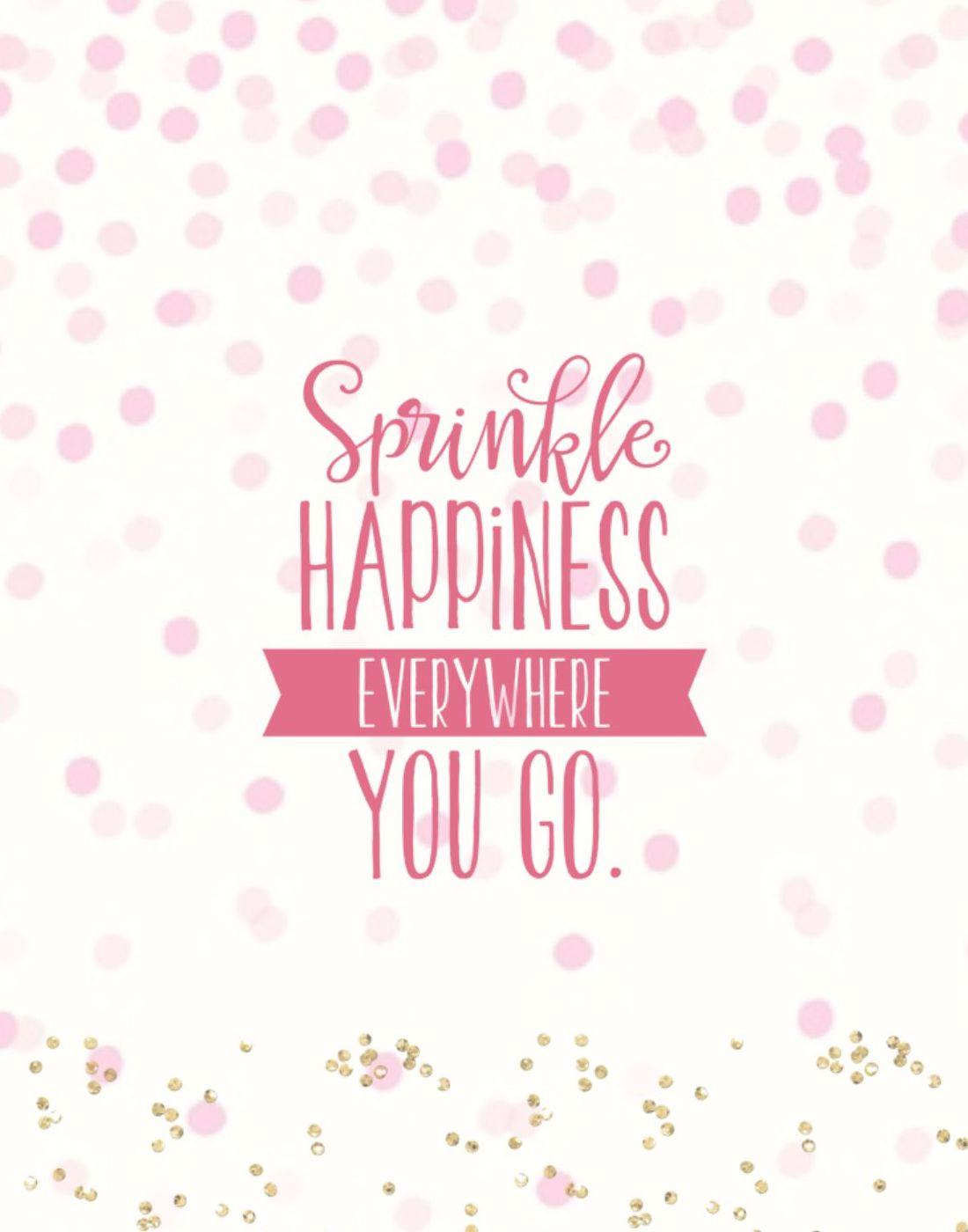 Sprinkle Happiness