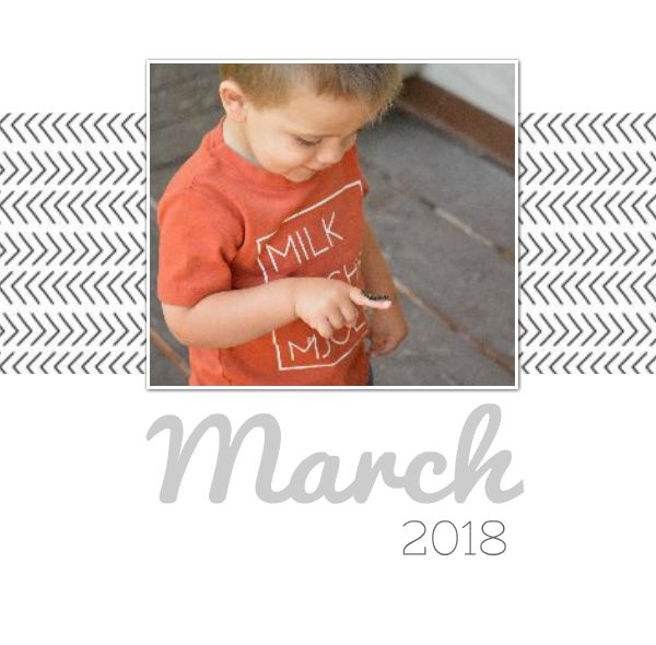Monthly Memories - March