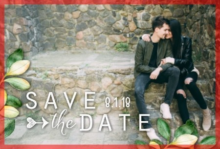 Wedded Naturals - Save the Date