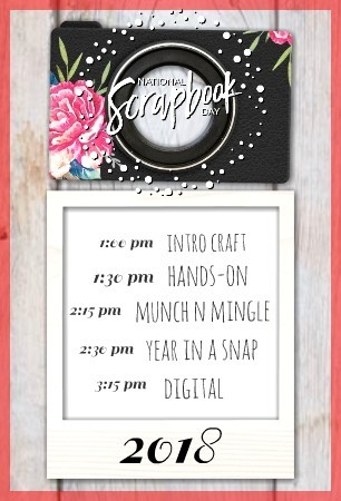 National Scrapbook Day 2018 - Photo Time