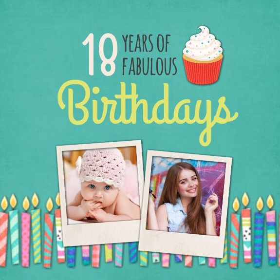 18 Fabulous Birthdays
