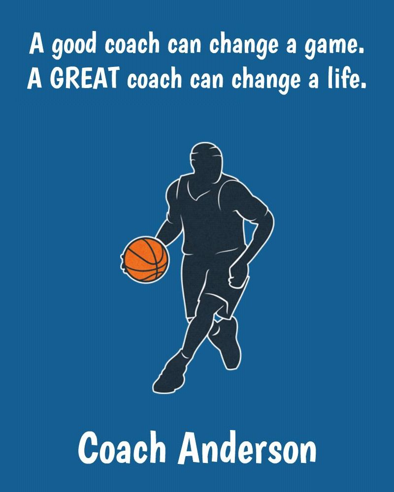 A Great Coach - Basketball