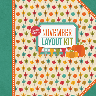 November Layout Kit