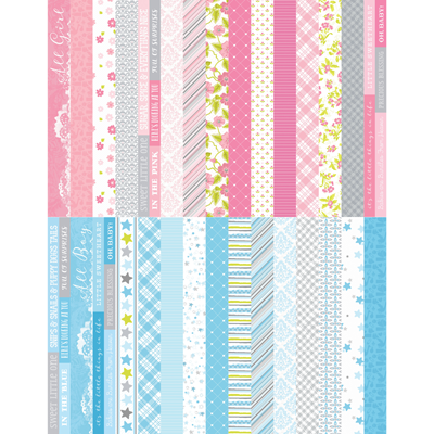 Pocket Baby Bundle Border Strips by Katie Pertiet