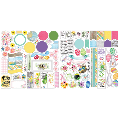 Springtime Stackable Stickers by Lauren Hinds