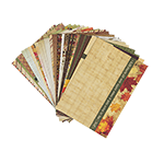 Thanksgiving Bountiful Blessings by Katie Pertiet Designer Journal/Mounting Cards