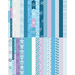 Pocket Winter Wonders Border Strips by Katie Pertiet