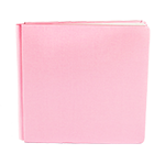 Petal Pink Bookcloth Album Coverset