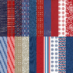 Red, White, & Beautiful by Katie Pertiet Designer Cardstock