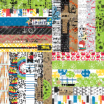 "It's a Kid's World by Lauren Hinds 2"" Border Strips - School and Sports"