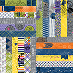 "Frightful & Furry by Lauren Hinds 2"" Border Strips: Pets"