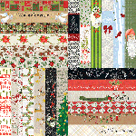 "Joyful & Triumphant by Lauren Hinds 2"" Border Strips: Joyful"