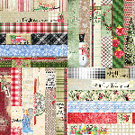 "Joyful & Triumphant by Lauren Hinds 2"" Border Strips: Triumphant"
