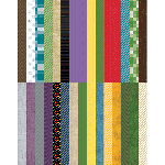 Pocket Wonder Designer Coordinates Border Strips by Lauren Hinds