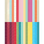 Pocket Wonder II Designer Coordinates Border Strips by Lauren Hinds