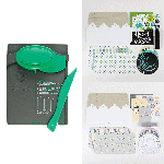 Whispering Lilac & Tropical Blooms Collection Pillow Box Punch Board Bundle